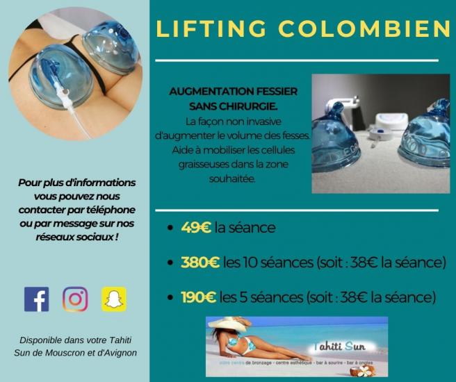 offre lifting colombien
